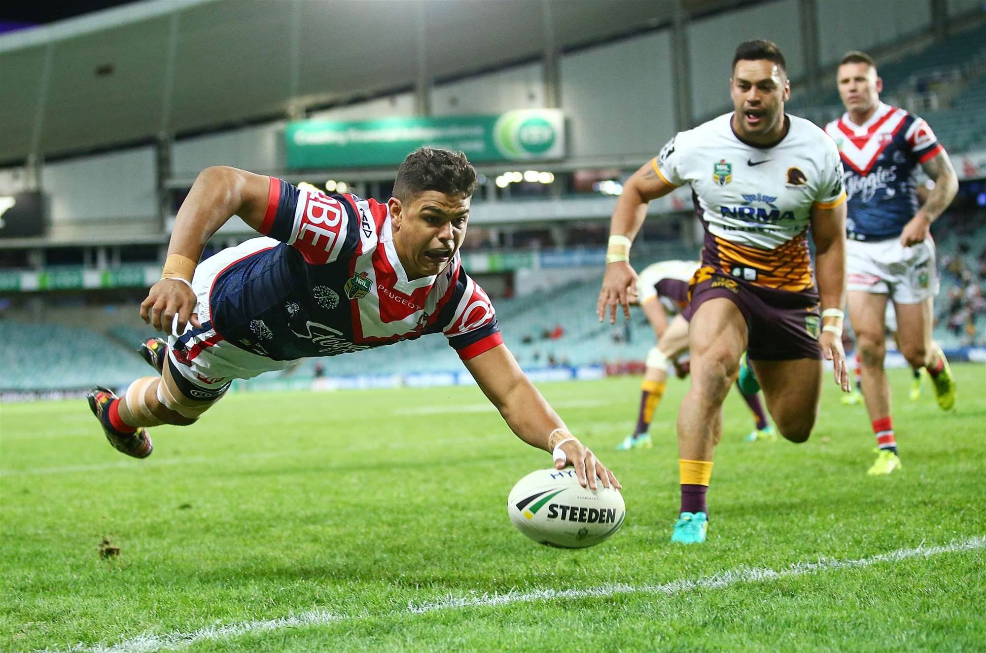 NRL action from round 21