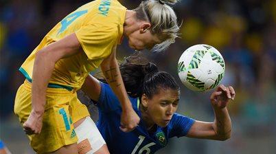 Rio: Matildas battle Brazil