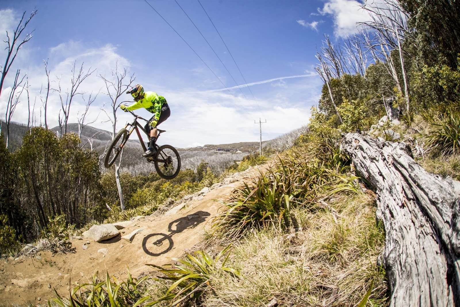 Falls Creek's Flowtown trail
