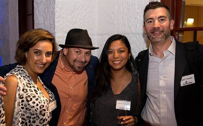 Who partied on after the 2016 CRN Fast50?