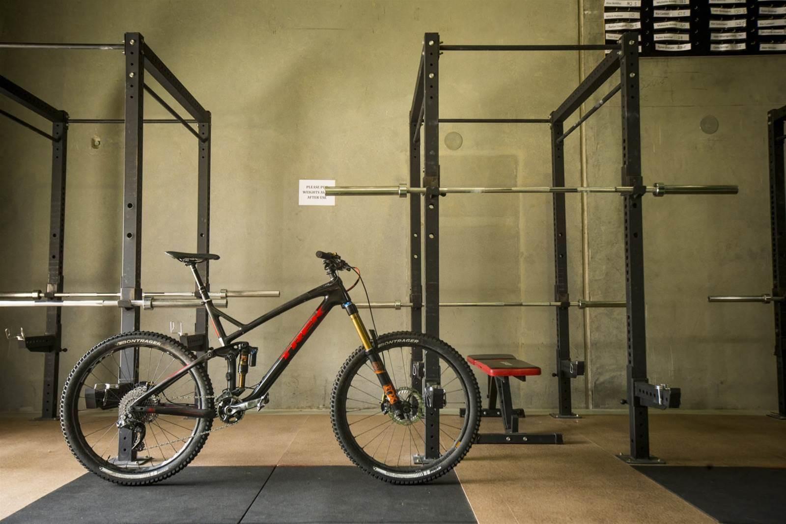 Bike Check: Chris Panozzo's Trek Slash