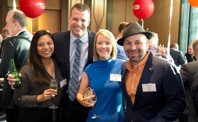 Who did we spot at the 2016 CRN Fast50 networking drinks?
