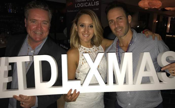 Thomas Duryea Logicalis' partners let loose in Melbourne