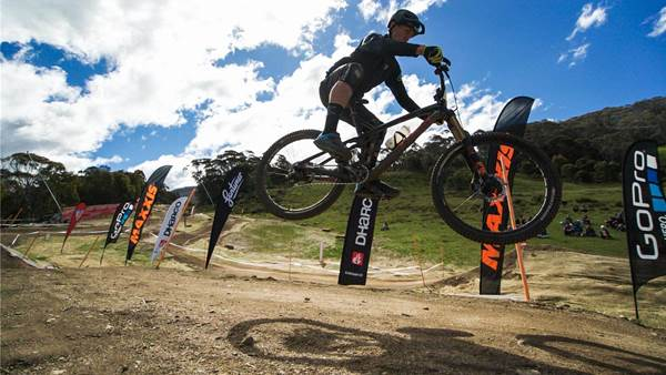 All out action in the All-Mountain Assault in Thredbo
