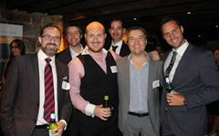 The Missing Link parties with clients, vendors and distributors