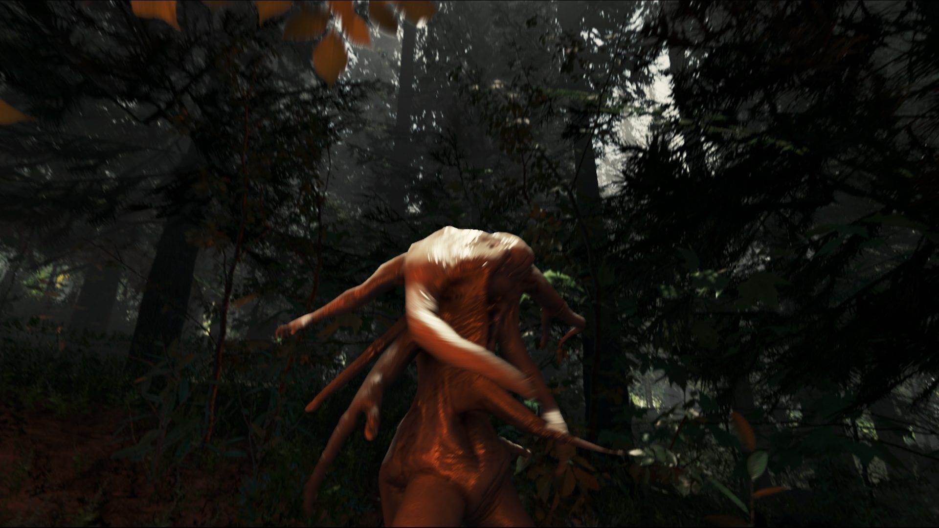 Freaky screenshots from The Forest