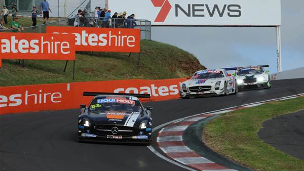Pics: GT sports cars arrive at Mount Panorama for Bathurst 12 Hour