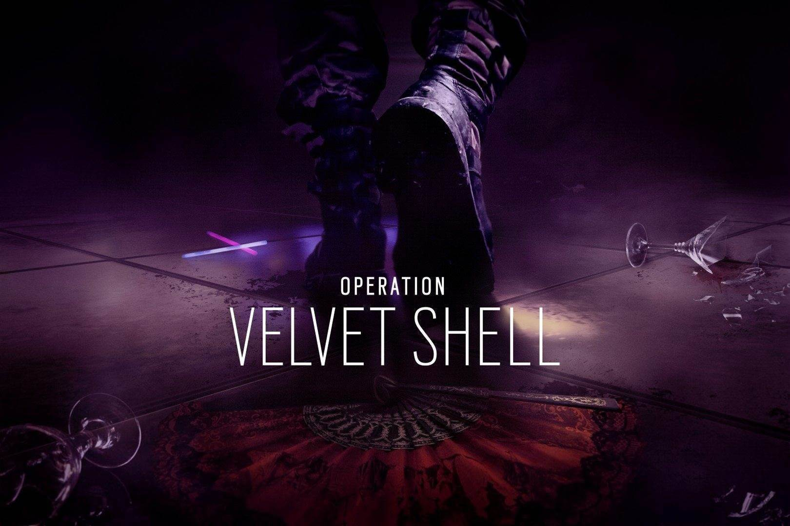 Six shots from Rainbow Six Siege's Operation Velvet Shell DLC