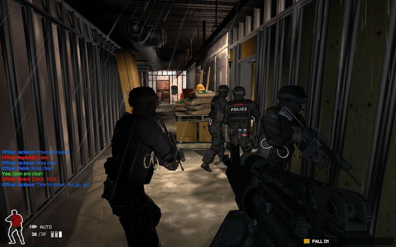 A tactical collection of SWAT 4: Gold Edition screenshots