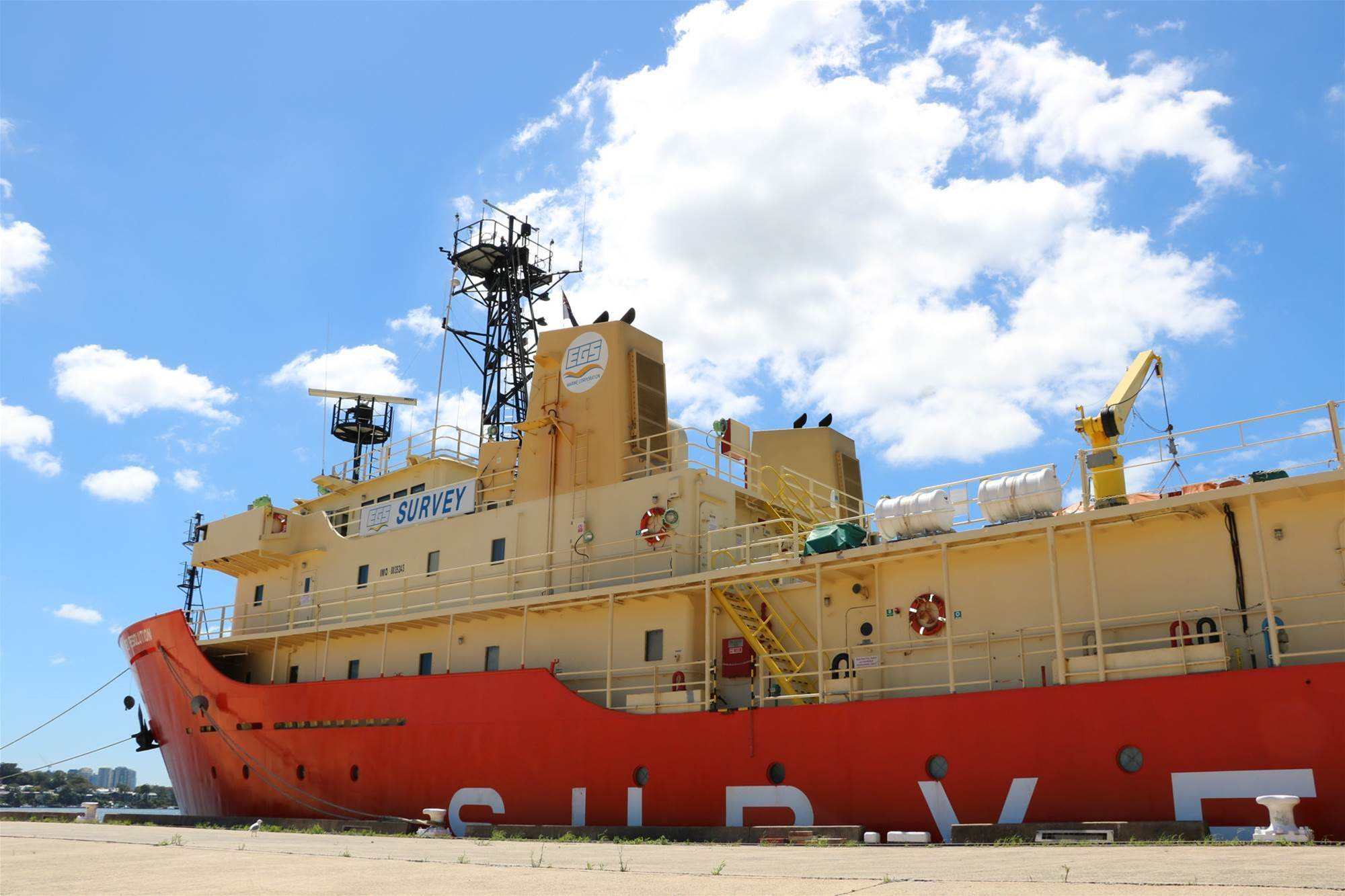 Photos: How to get a subsea cable from Sydney to LA
