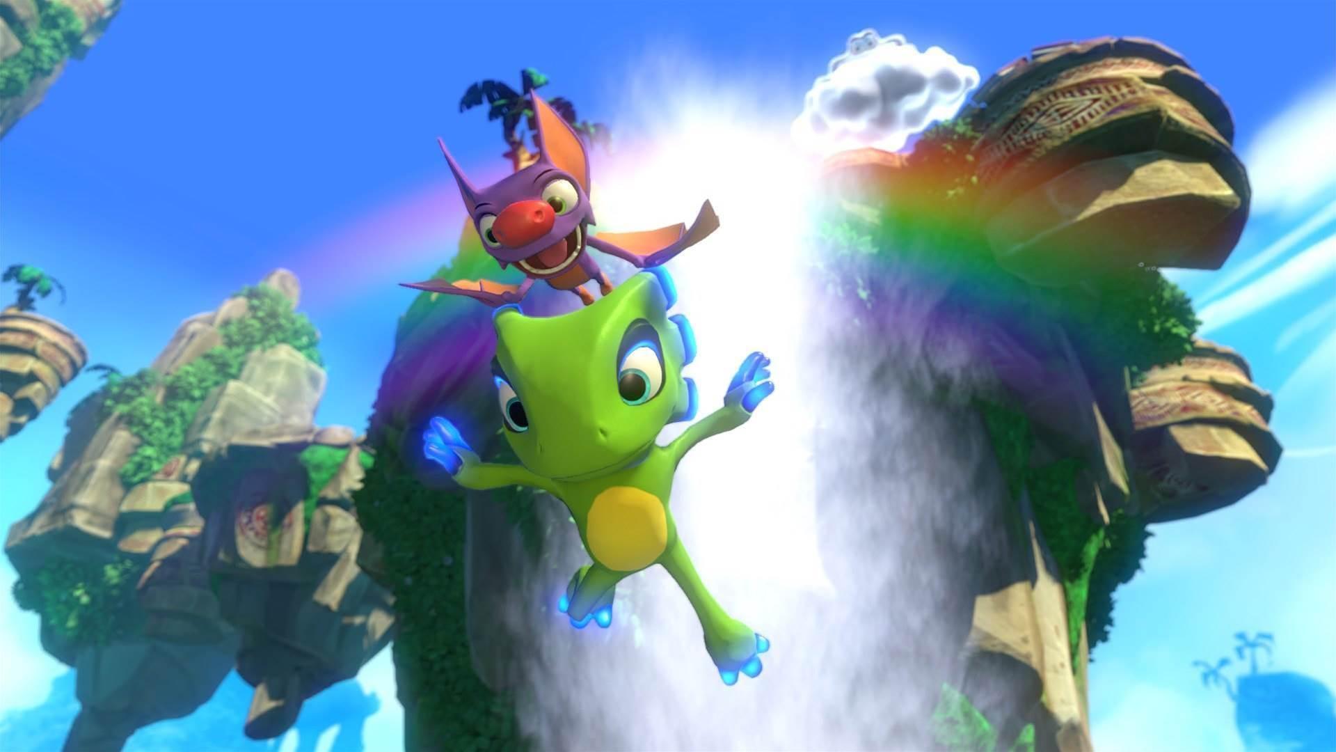 Ultra-colourful Yooka-Laylee screenshots
