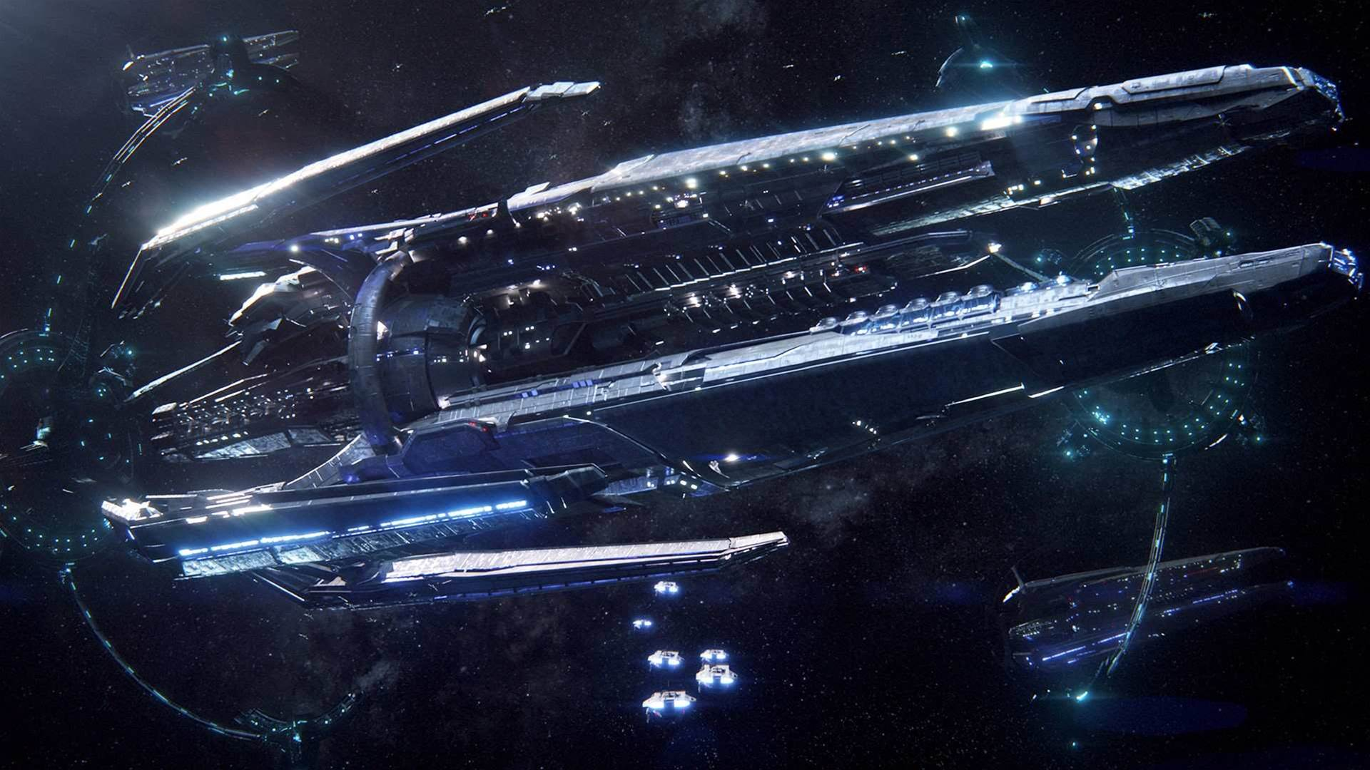 New Mass Effect Andromeda screens, Commander
