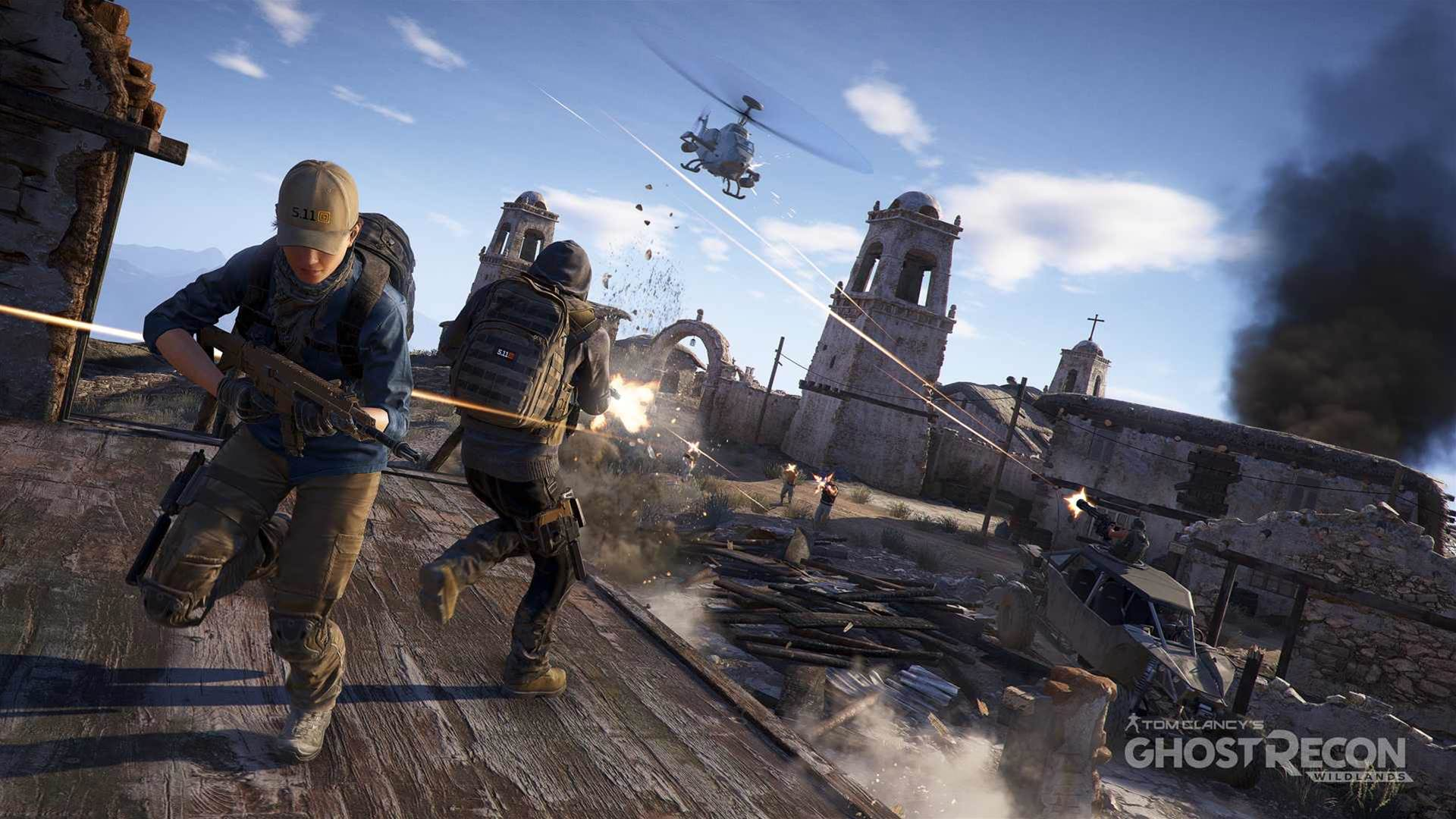 Locked and loaded Ghost Recon Wildlands imagery
