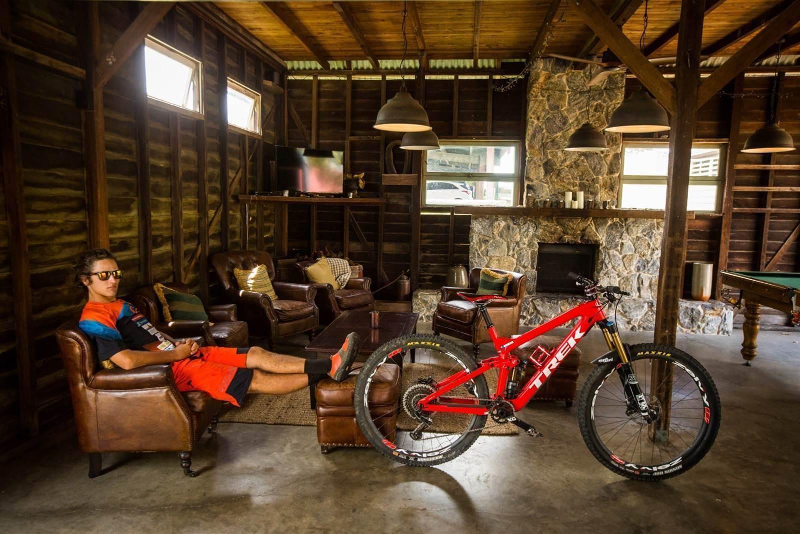 Bike Check: Ben Forbes' Trek Slash