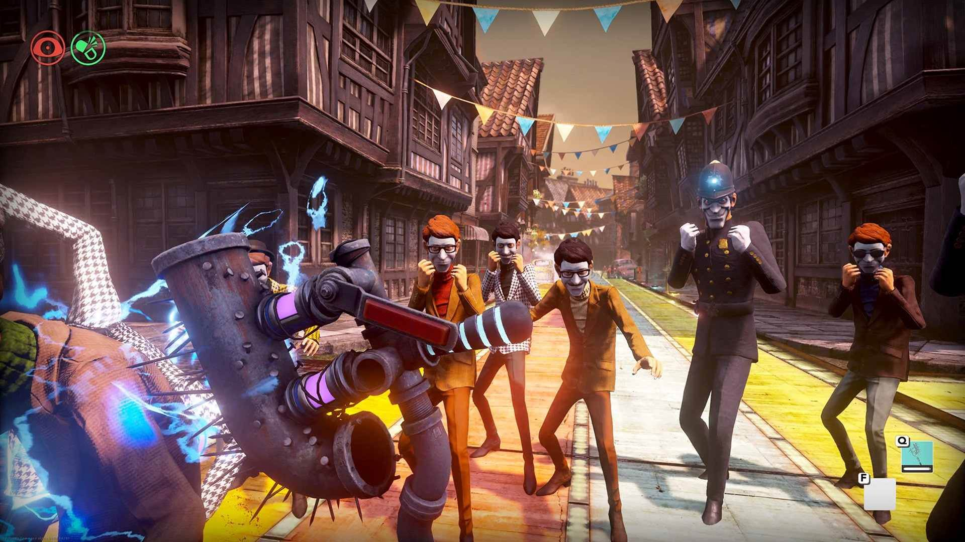 Not-so-happy screenshots from We Happy Few