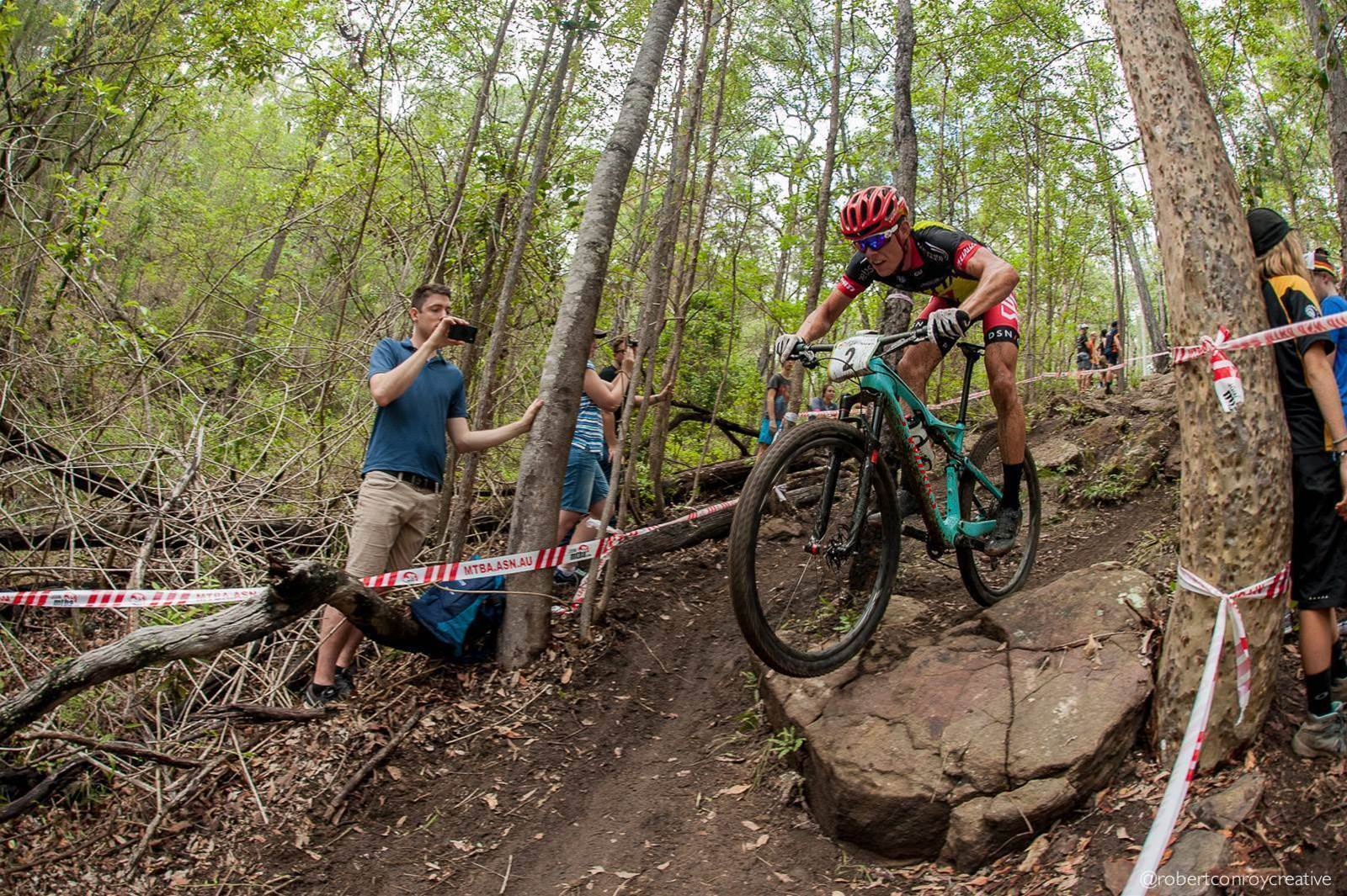 Pushing the threshold. The final day of the XCO National Champs