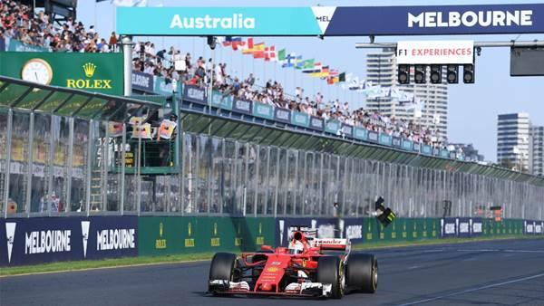 Australian F1 grand prix pic gallery