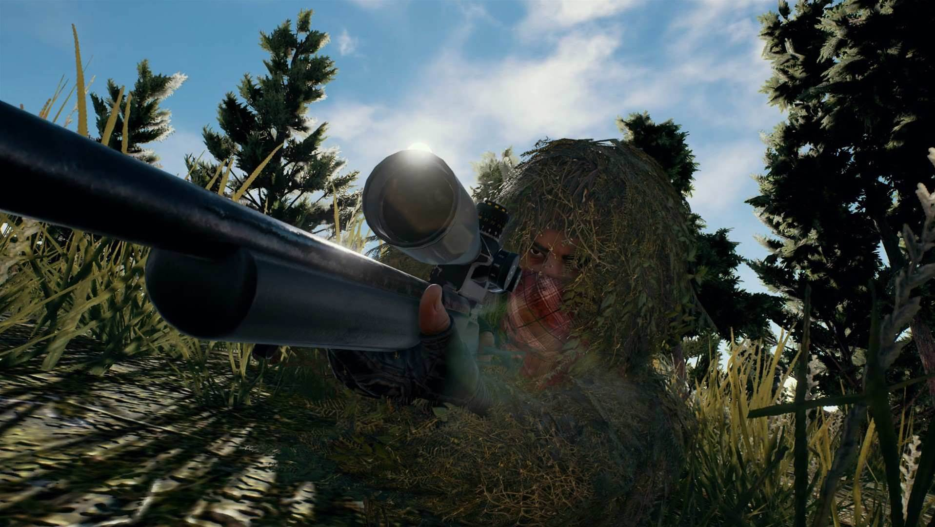 Battling screenshots for Playerunknown's Battlegrounds