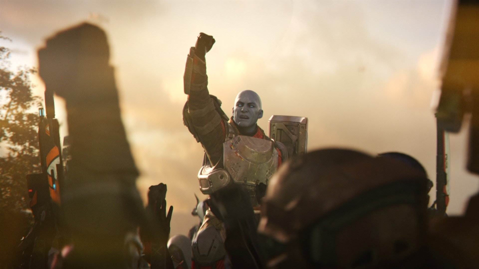 Cinematic stills for Bungie's Destiny 2