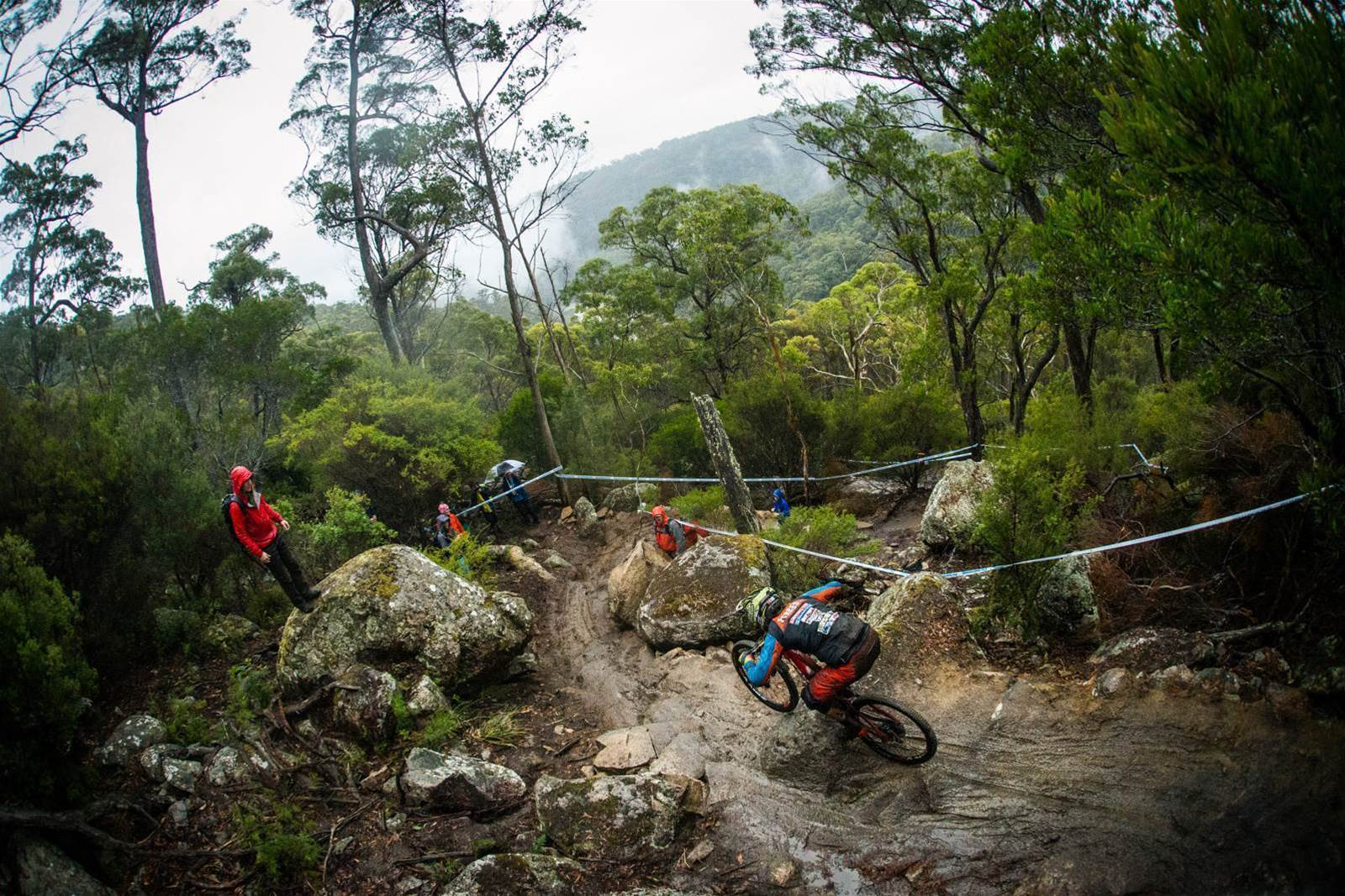 Let the heavens fall : Race day EWS RD 2