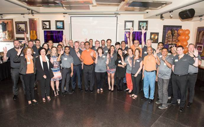 Vertiv celebrates new brand with partners in Sydney