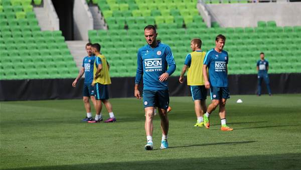 Training: Melbourne City pic special