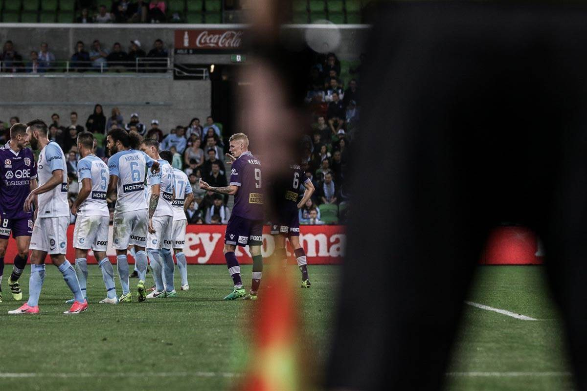 On The Ground: Melbourne City vs Perth Glory