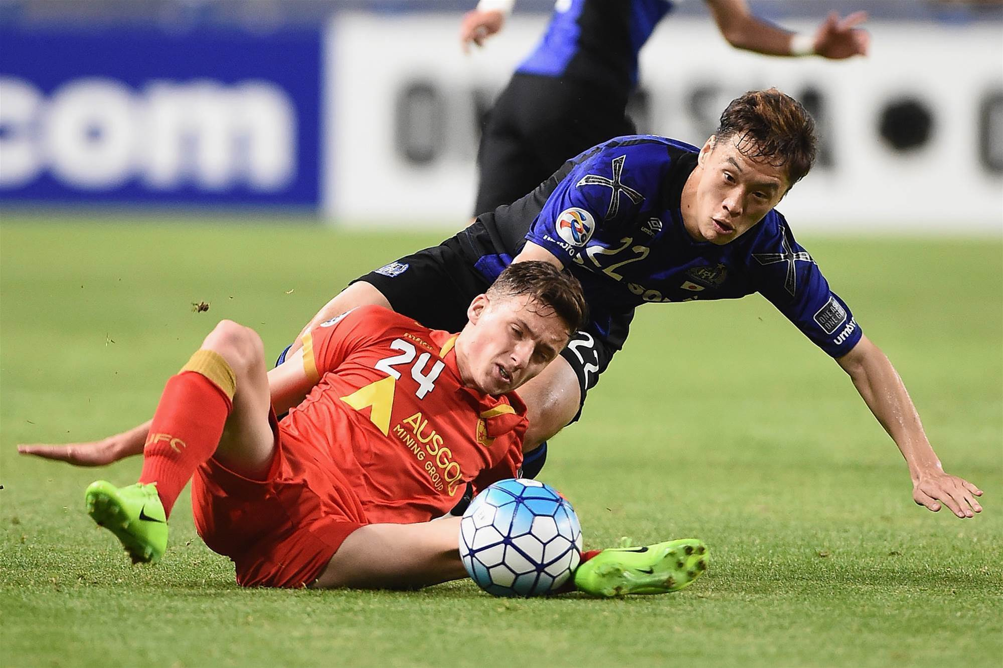 ACL: Gamba v Adelaide pic special
