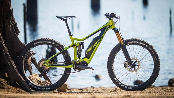 FIRST LOOK: Merida E160 900E pedal-assist enduro bike