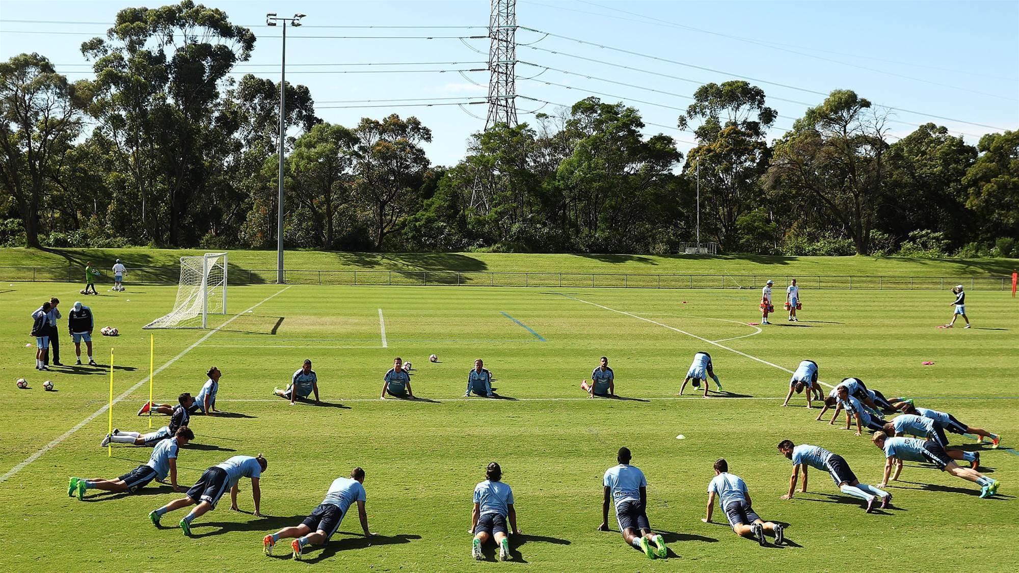Pic special: Sydney FC training