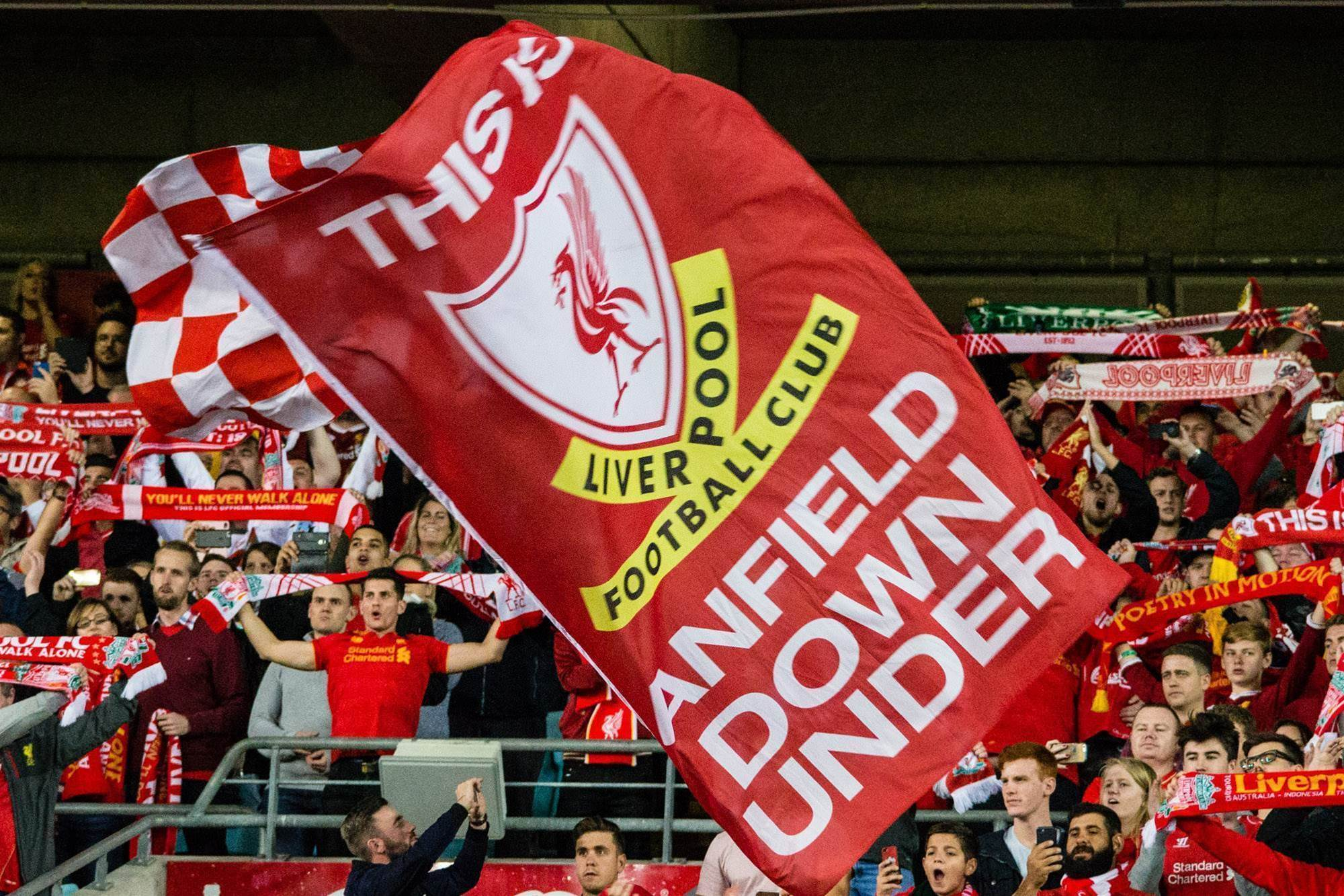 Gallery: Among the Liverpool fans in Sydney