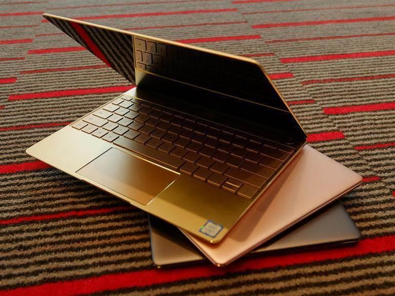 Huawei's Matebook X in photos