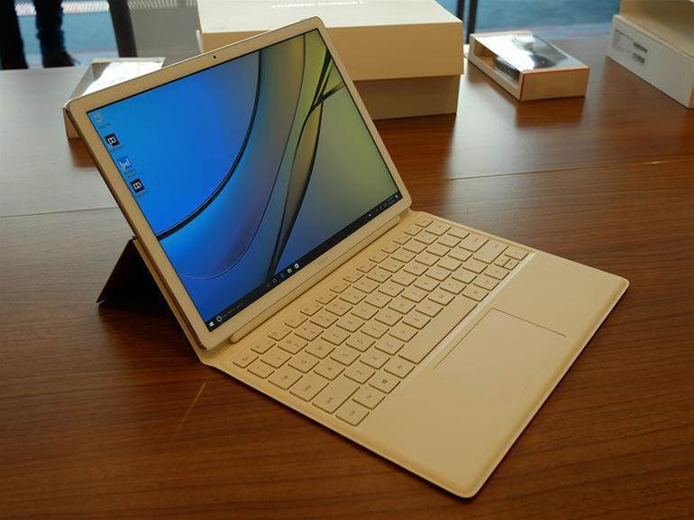 Huawei's Matebook E in pictures