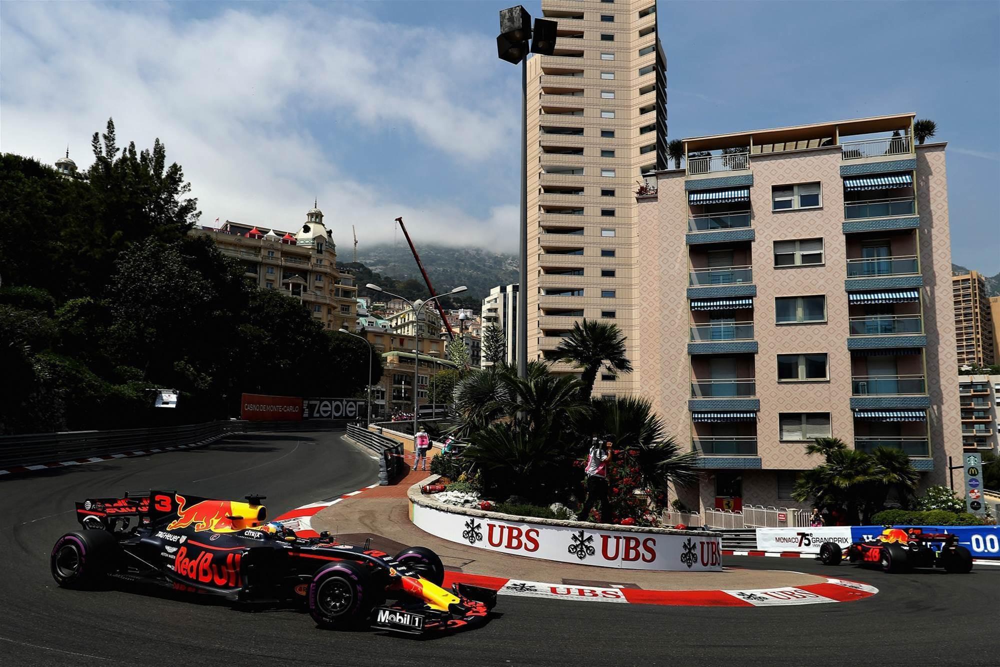 Pic gallery: Monaco F1 practice