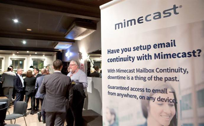 Mimecast names top Australian partners