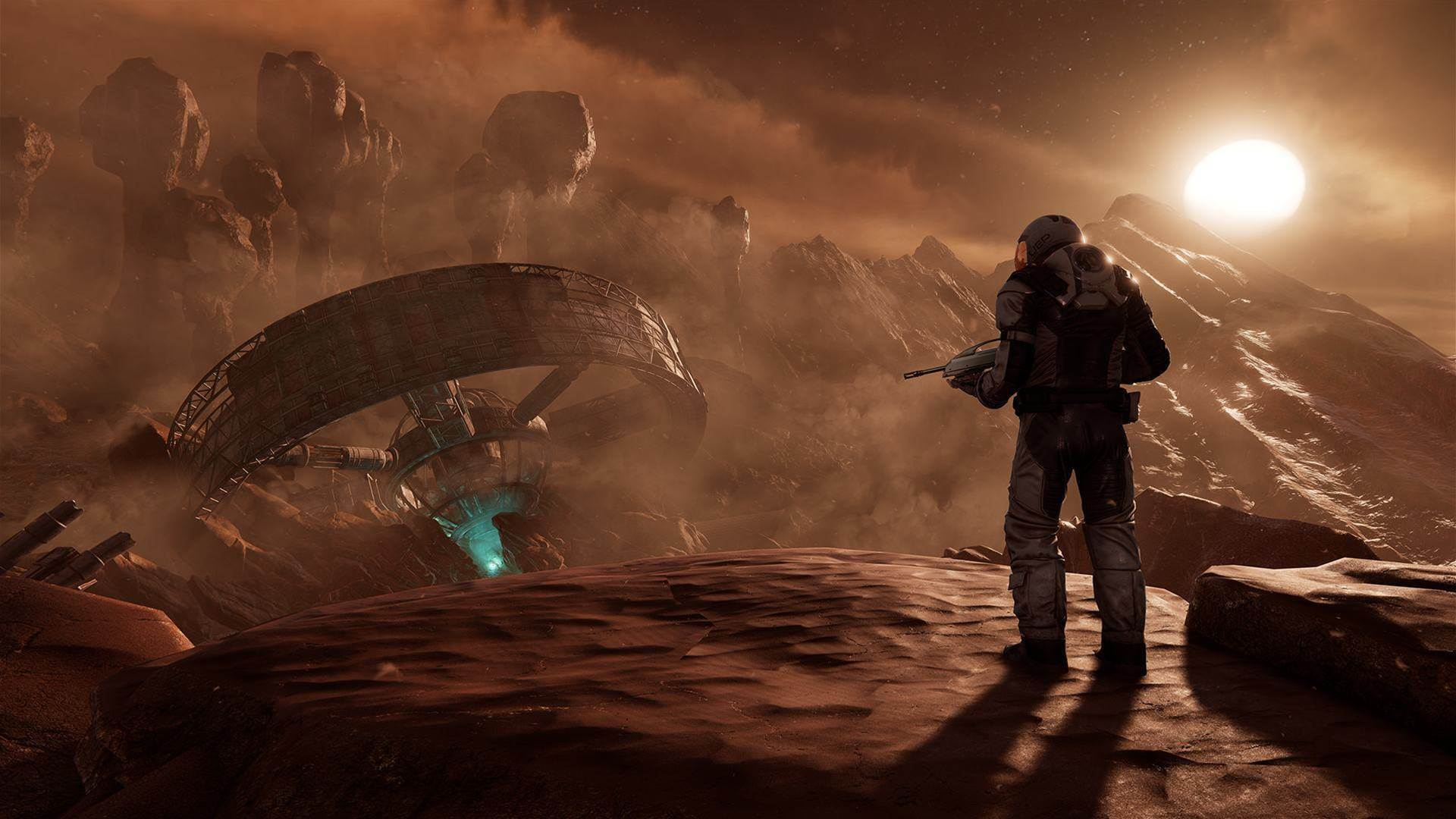 Sci-fi screens for Farpoint