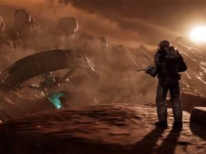 Sci-fi screens for Farpoint