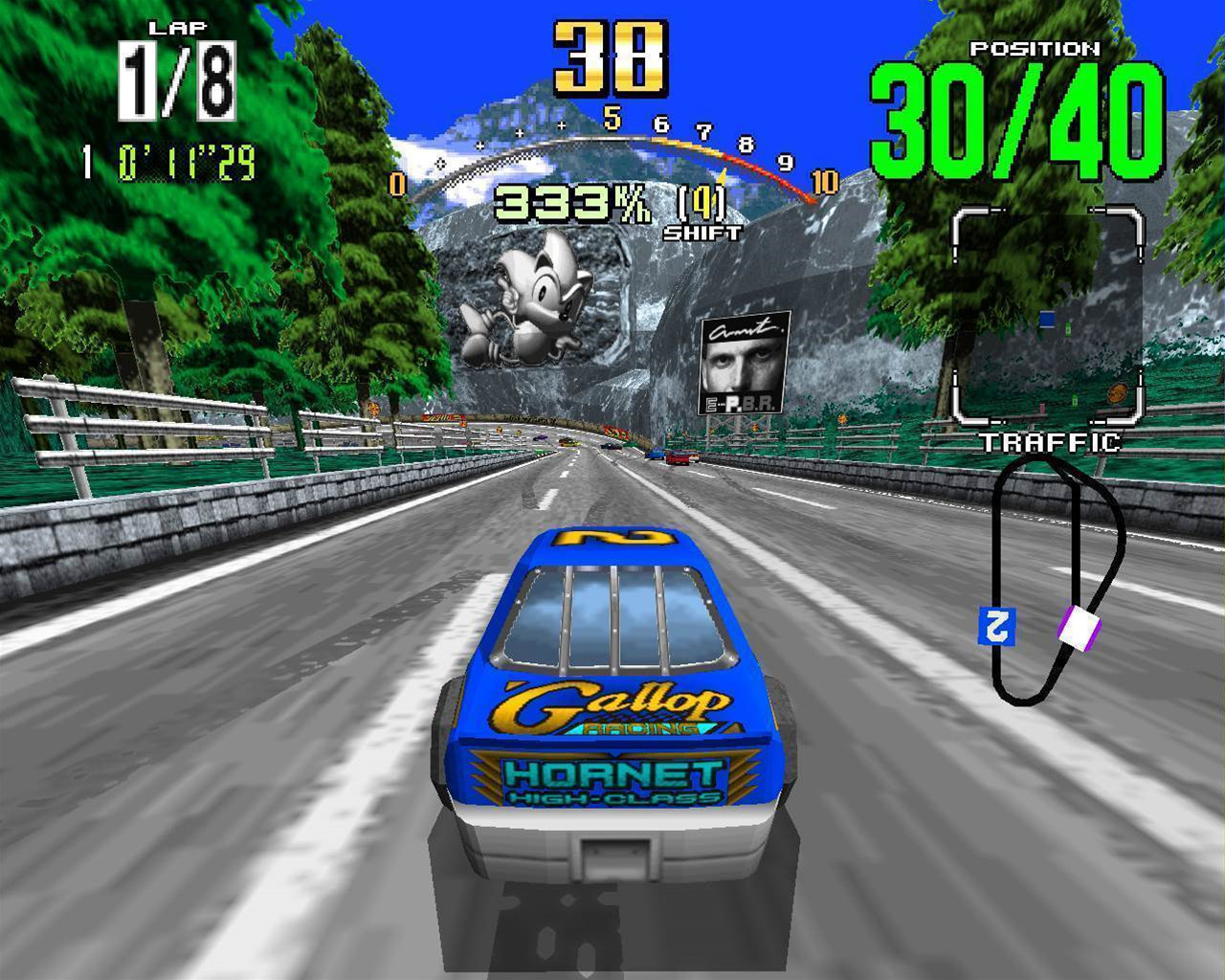 Eye Candy Retro - Daytona USA