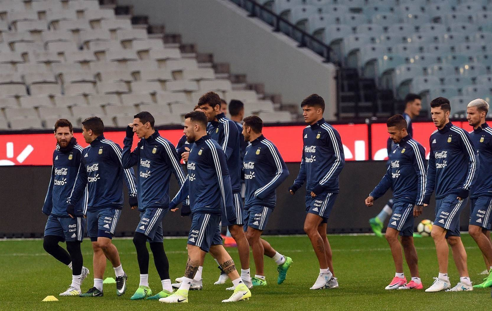 Pic special: Argentina train at the MCG