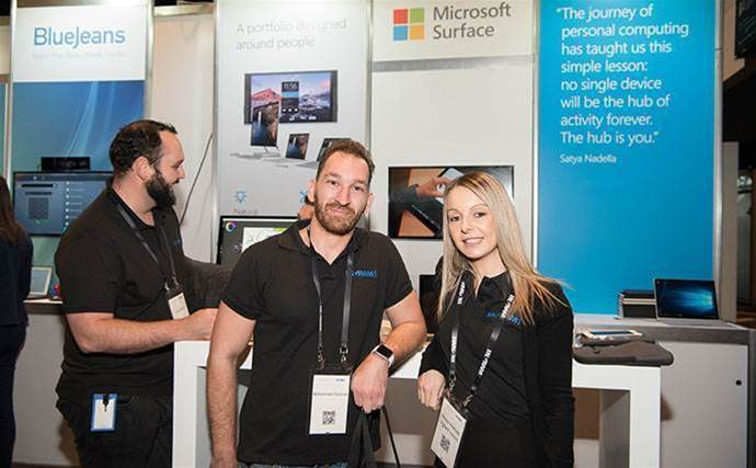 Who did we see at Ingram Micro Experience Sydney?