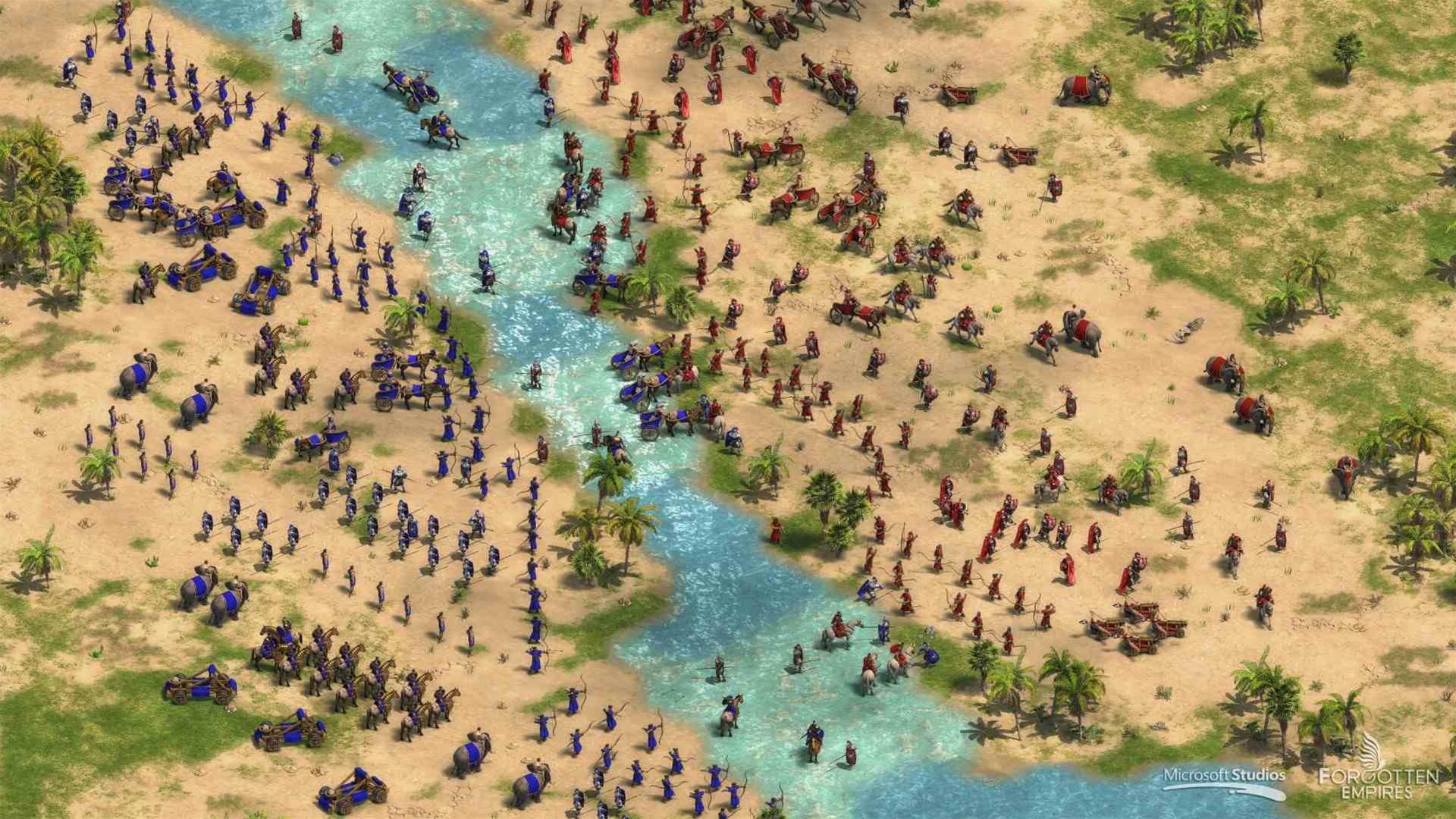 Invading screenshots for Age of Empires: Definitive Edition