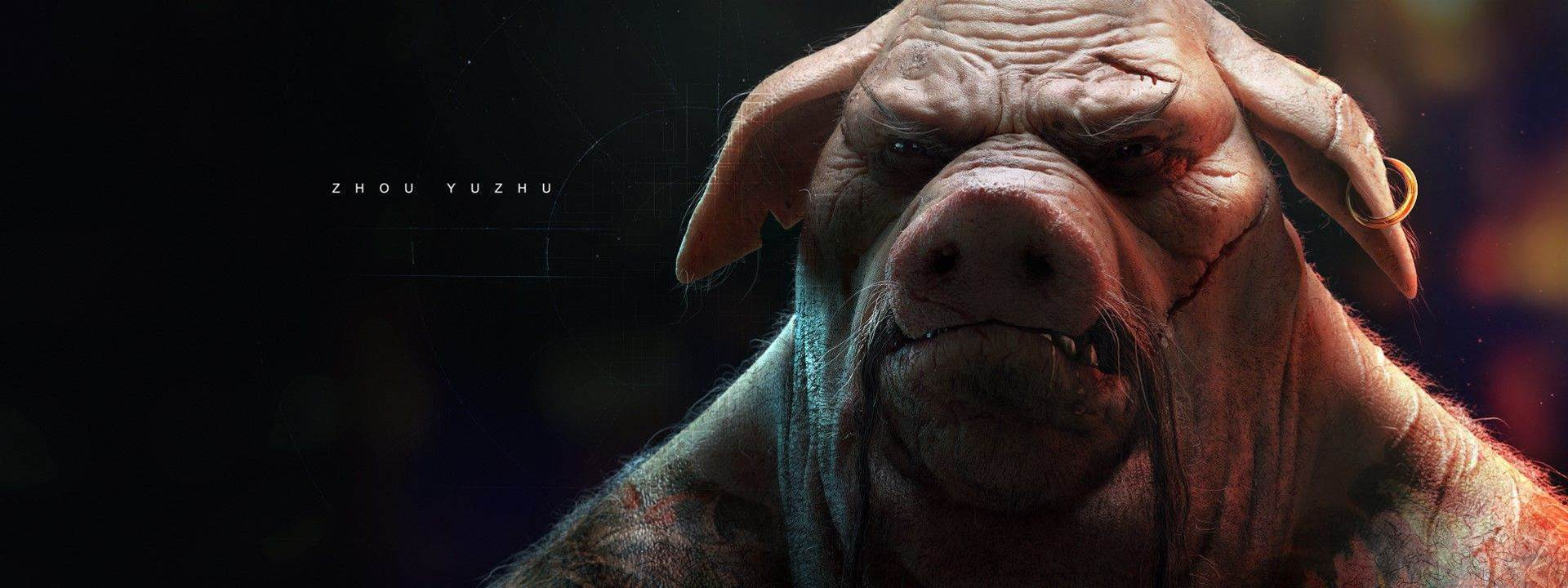 Space monkeys and sci-fi madness in Beyond Good and Evil 2 art