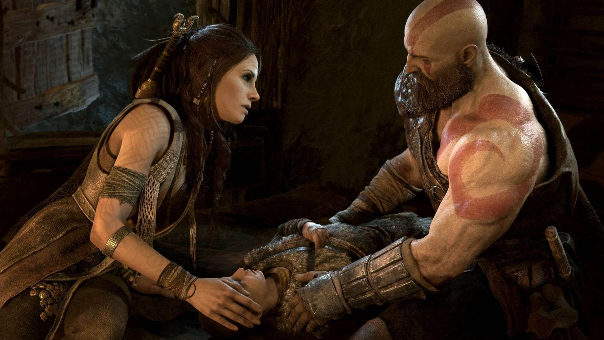 Norse gods rise in God of War screenshots