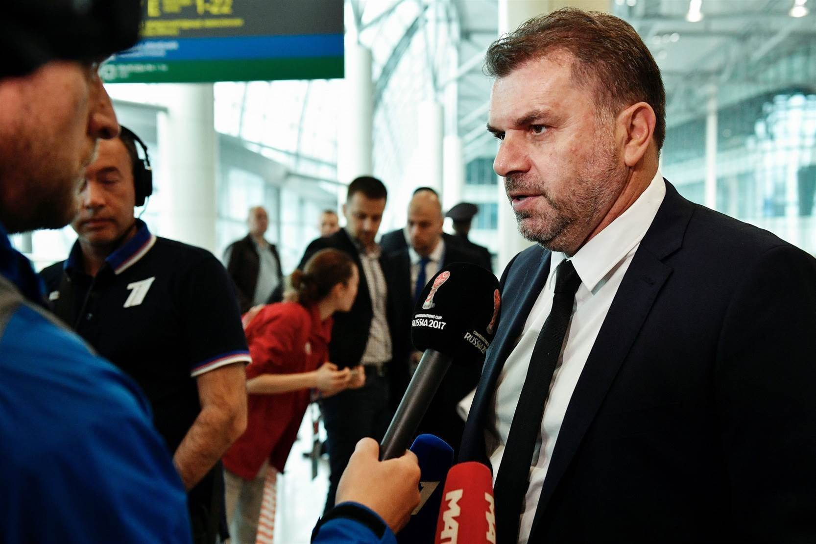 Pic special: Socceroos arrive in Russia