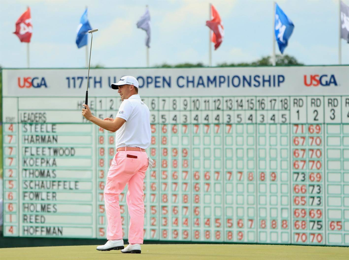 U.S OPEN: Best images from round 3