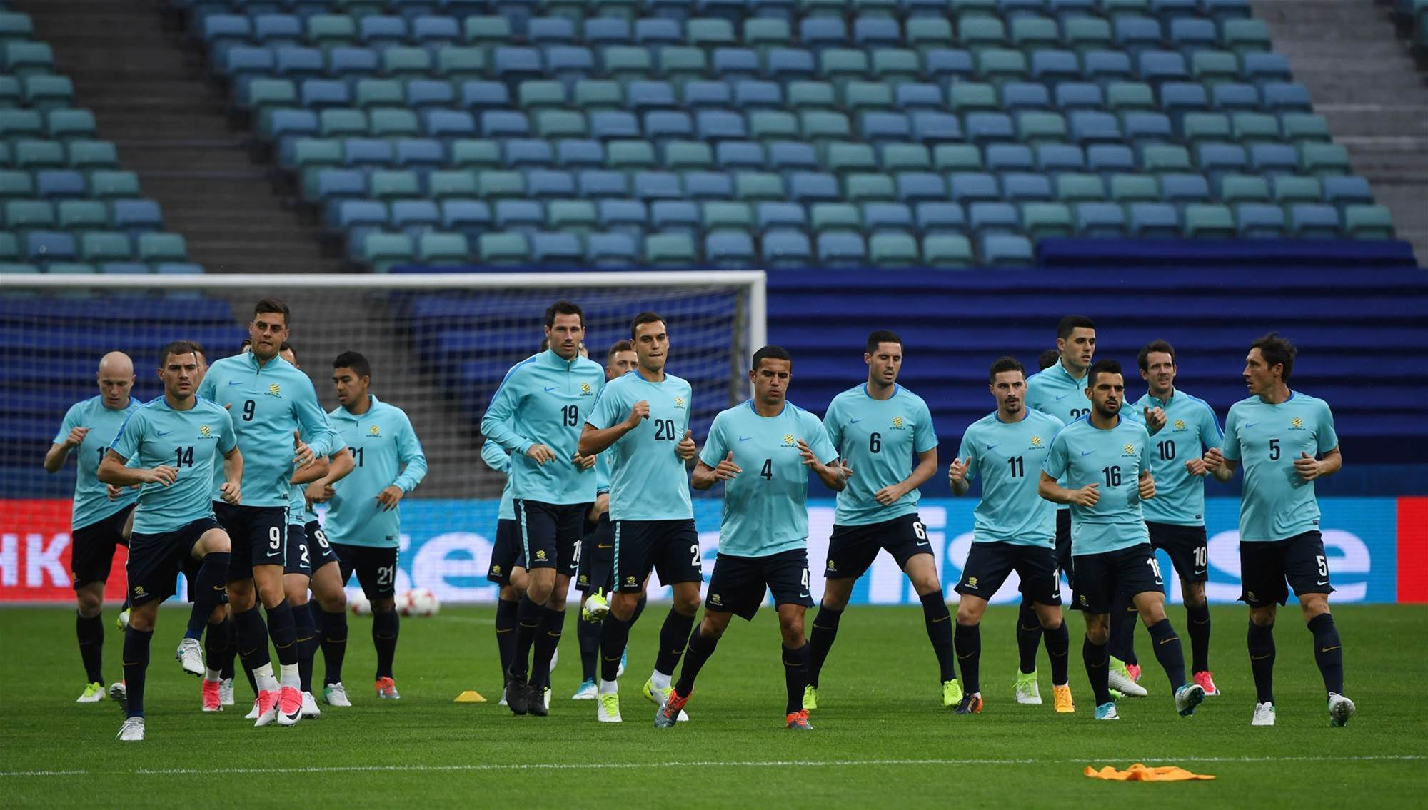 Pic special: Socceroos train in Sochi