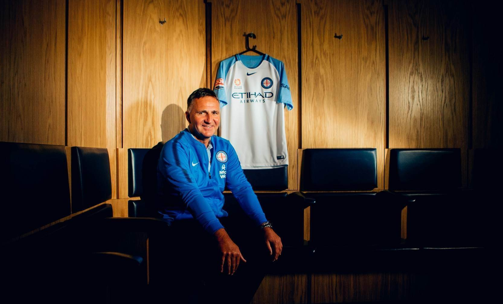 Pic special: Warren Joyce's first day at City