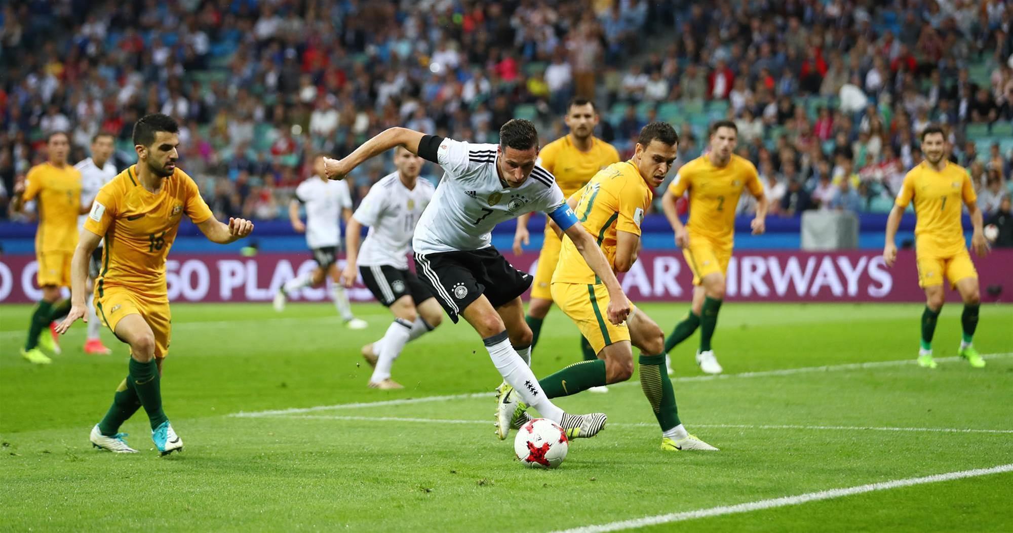 Socceroos v Germany pic special