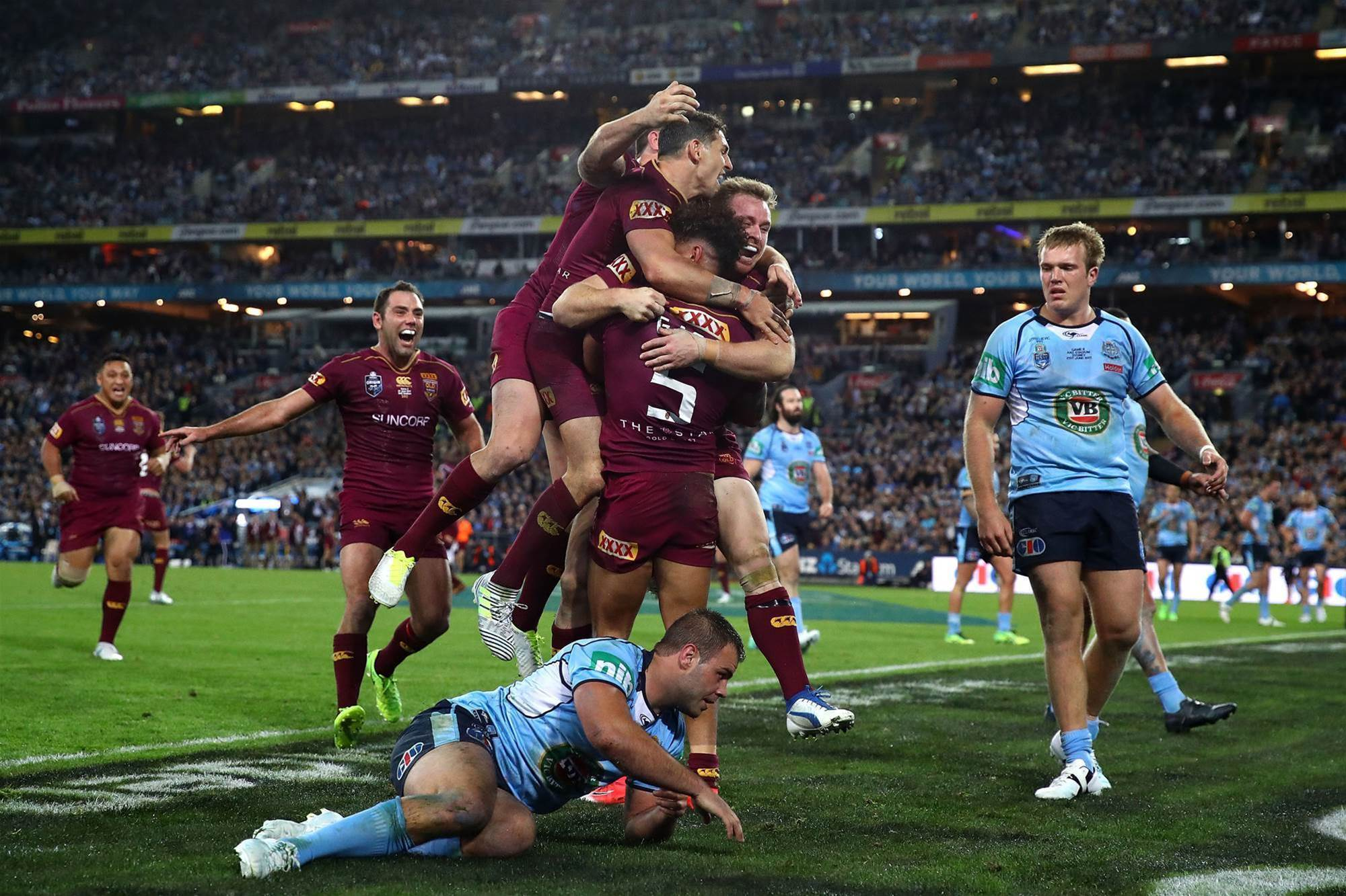 State of Origin II pic special