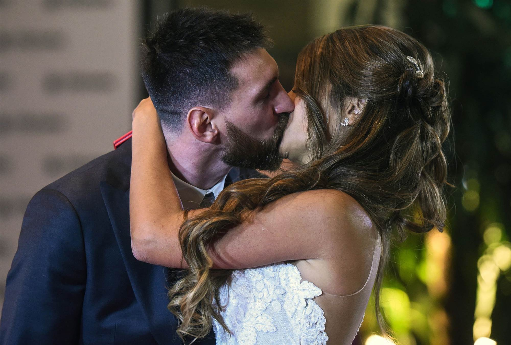 Football royalty, celebrities: Messi wedding pic special